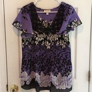 Dress Barn short sleeve top